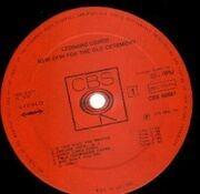 LP - Leonard Cohen - New Skin For The Old Ceremony
