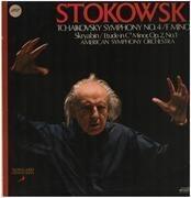 LP - Tchaikovsky / Skryabin (Stokowski) - Symphony No. 4 / F Minor / Etude In C♯ Minor, Op. 2, No. 1