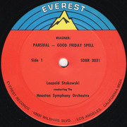 LP - Wagner (Stokowski) - Parsifal (Good Friday Spell And Symphonic Synthesis Of Act 3)