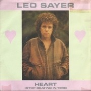 7'' - Leo Sayer - Heart (Stop Beating In Time) - Blue injection labels