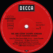 LP - Les Humphries Singers - We Are Goin' Down Jordan - no poster