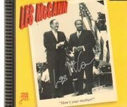 CD - Les McCann - How's Your Mother? (Live In New York 1967) - Signed / Flip case