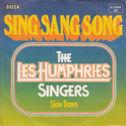 7'' - Les Humphries Singers - Sing Sang Song