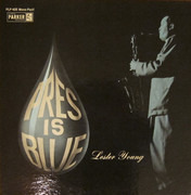 LP - Lester Young - Pres Is Blue - Gatefold.