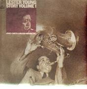 Double LP - Lester Young - The Lester Young Story Vol. 1