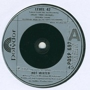7'' - Level 42 - Hot Water - Silver Injection Labels