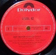 12'' - Level 42 - Hot Water