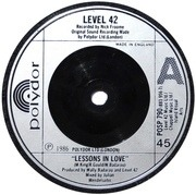 7'' - Level 42 - Lessons In Love