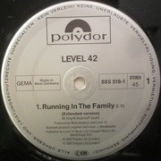 12'' - Level 42 - Running In The Family