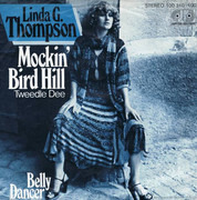 7inch Vinyl Single - Linda G. Thompson - Mockin' Bird Hill (Tweedle Dee)