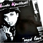 LP - Linda Ronstadt - Mad Love