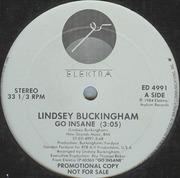 12'' - Lindsey Buckingham - Go Insane - Promo