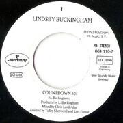 7inch Vinyl Single - Lindsey Buckingham - Countdown