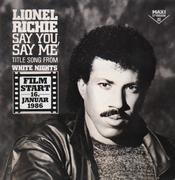 12'' - Lionel Richie - Say You, Say Me / Can't Slow Down