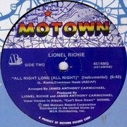 12inch Vinyl Single - Lionel Richie - All Night Long (All Night)