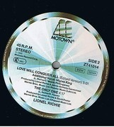 12inch Vinyl Single - Lionel Richie - Love Will Conquer All