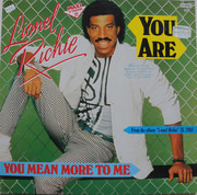 12inch Vinyl Single - Lionel Richie - You Are