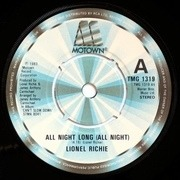 7'' - Lionel Richie - All Night Long (All Night) - Knock-out Centers