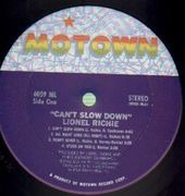 LP - Lionel Richie - Can't Slow Down
