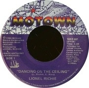 7'' - Lionel Richie - Dancing On The Ceiling