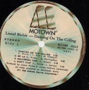 LP - Lionel Richie - Dancing On The Ceiling