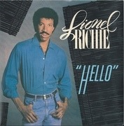 7'' - Lionel Richie - Hello - Solid Centre, Picture Sleeve