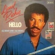 7'' - Lionel Richie - Hello