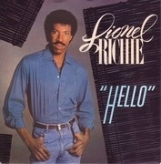 7'' - Lionel Richie - Hello - Knockout centre