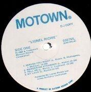 LP - Lionel Richie - Lionel Richie - DJ COPY