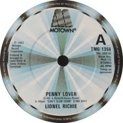 7'' - Lionel Richie - Penny Lover