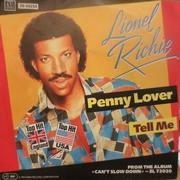 7'' - Lionel Richie - Penny Lover / Tell me