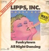 12inch Vinyl Single - Lipps Inc - Funkytown / All Night Dancing