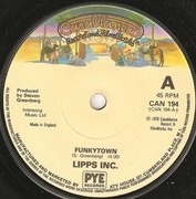 7'' - Lipps, Inc. - Funkytown - Solid centre
