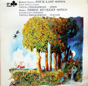LP - Lisa Della Casa & Kathleen Ferrier , Richard Strauss / Gustav Mahler - Four Last Songs / Three Rückert Songs