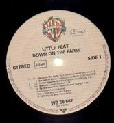 LP - Little Feat - Down On The Farm
