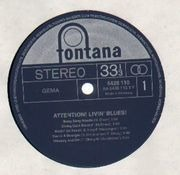 LP - Livin' Blues - Attention! Livin' Blues