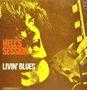 LP - Livin' Blues - Hell's Session - Original Dutch