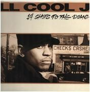 Double LP - LL Cool J - 14 Shots To The Dome - gatefold