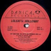 12'' - Loleatta Holloway - Hit And Run - '88 Gotta Be Number One