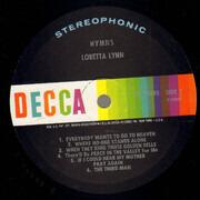 LP - Loretta Lynn - Hymns - Pinckneyville pressing