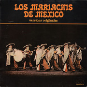 LP - Los Mariachis De Mexico - Versions Originales