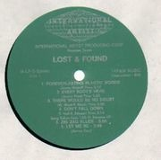 LP - Lost And Found - Forever Lasting Plastic Words