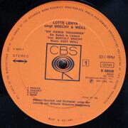 Double LP - Lotte Lenya - Lotte Lenya Singt Brecht Und Weill - Gatefold
