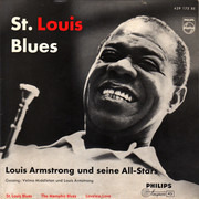 7inch Vinyl Single - Louis Armstrong And His All-Stars - St. Louis Blues