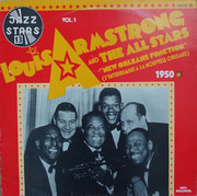 LP - Louis Armstrong And His All-Stars - New Orleans Function (L'Enterrement A La Nouvelle Orleans) - 1950
