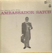 LP - Louis Armstrong And His All-Stars - Ambassador Satch