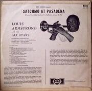 LP - Louis Armstrong And His All-Stars - Satchmo At Pasadena