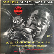 LP - Louis Armstrong And His All-Stars - Satchmo At Symphony Hall Vol.2