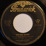 7inch Vinyl Single - Louis Armstrong And His All-Stars - The Hot Seven