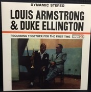 LP - Louis  Armstrong &duke  Ellington - Together For The First Time - .. TIME // 180GR.